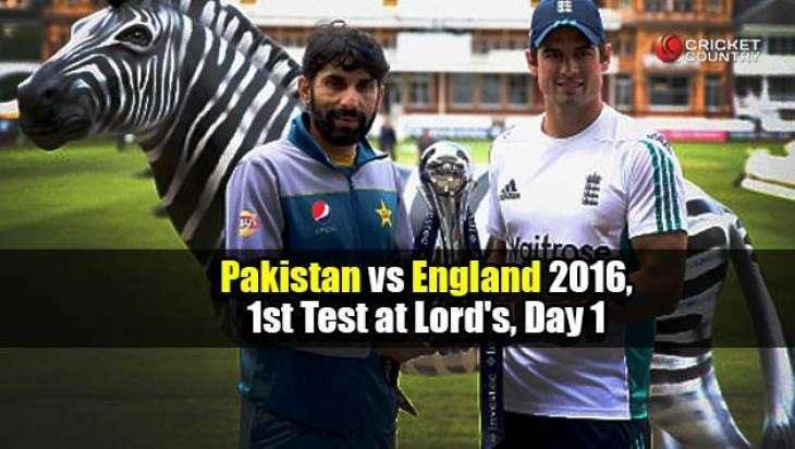 انگلینڈ تے پاکستان وچال ٹیسٹ میچ (اج) شروع تھیسی