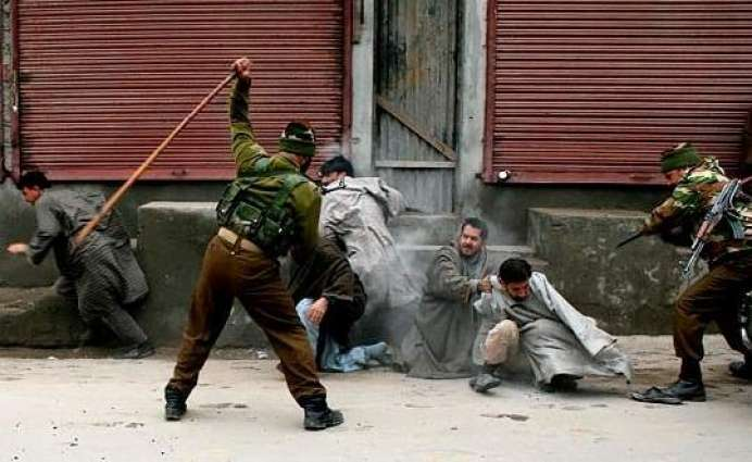 Forceful demos despite curfew restrictions in IOK