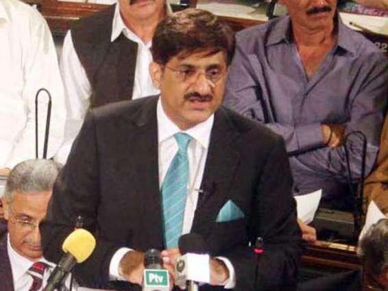 Ebad congratulates Chief Minister-Elect Murad Ali Shah