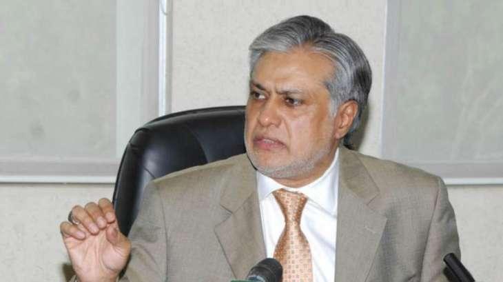 انڈونیشیاٹی پاکستانی شاری نا سزائے موت آ عملدرآمد ءِ توننگانے، وزیر خزانہ سینیٹر اسحاق ڈار