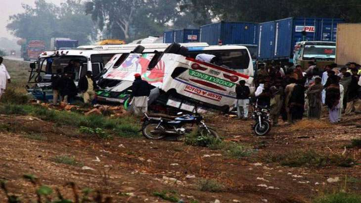 One killed, one injured in road accident