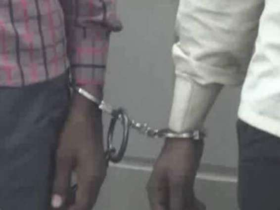 Two arrested