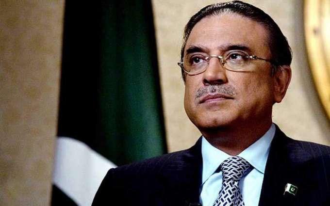 Asif Ali Zardari felicitates new CM Sindh
