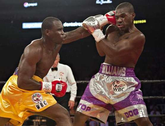Boxing: Stevenson defends title with fourth round KO