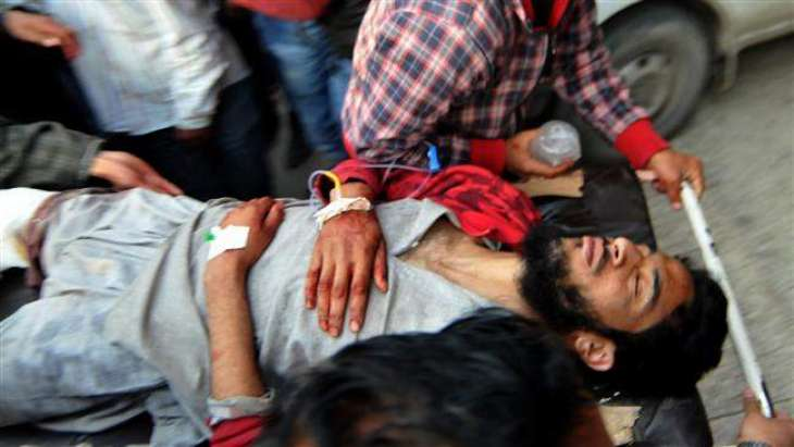 Over 100 protesters injured in Indian forces' action in IOK