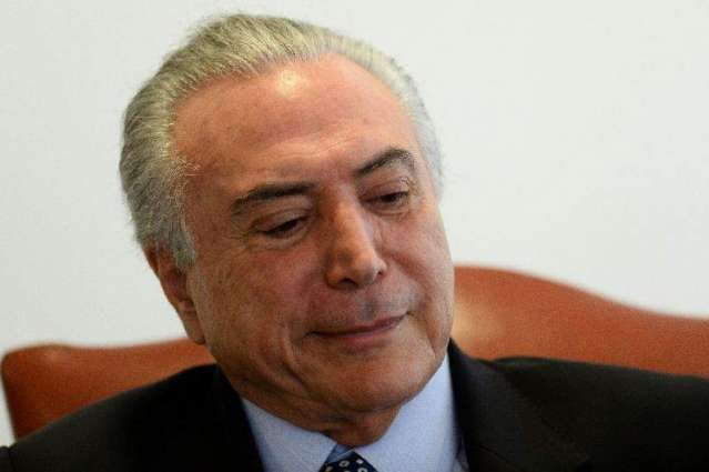Brazil impeachment must be settled by Aug 26: Temer