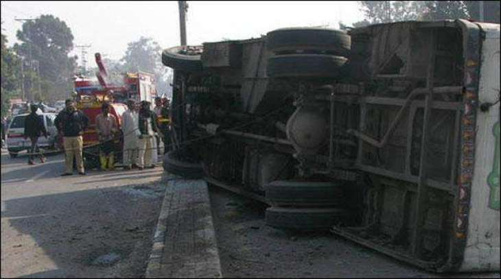 Wedding car overturned in Khyber Agency, killing 15 people
