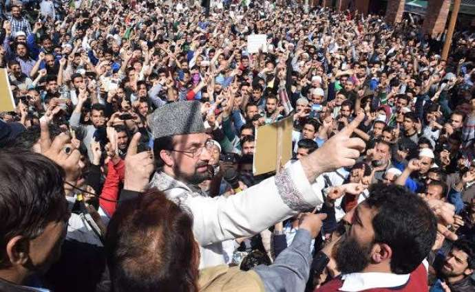 Indian state terrorism cannot suppress Kashmiris: Mirwaiz