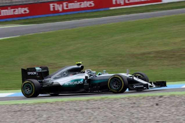 Formula One: German Grand Prix free practice times