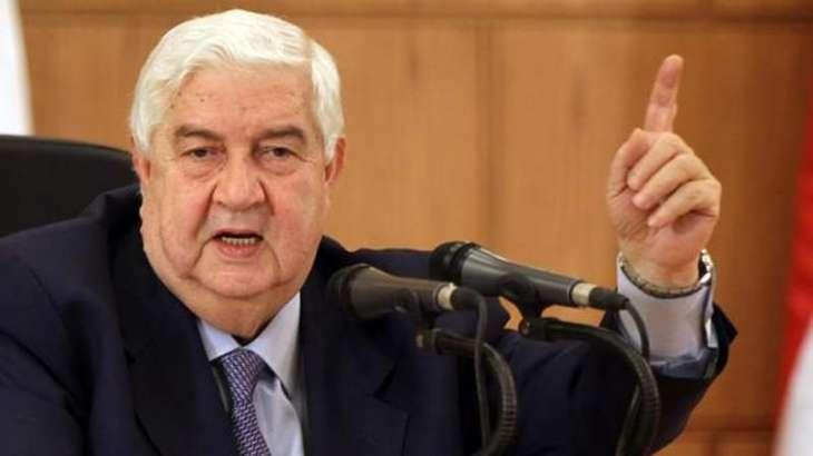 دہشت گردی دے خلاف جنگ اچ فتح دی درسال تے پج گئے ہئیں ، شامی وزیر خارجہ