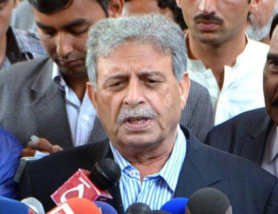 Karachi operation to continue till complete peace: Rana Tanveer
