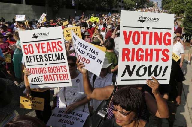 US judge rejects North Carolina voter ID law