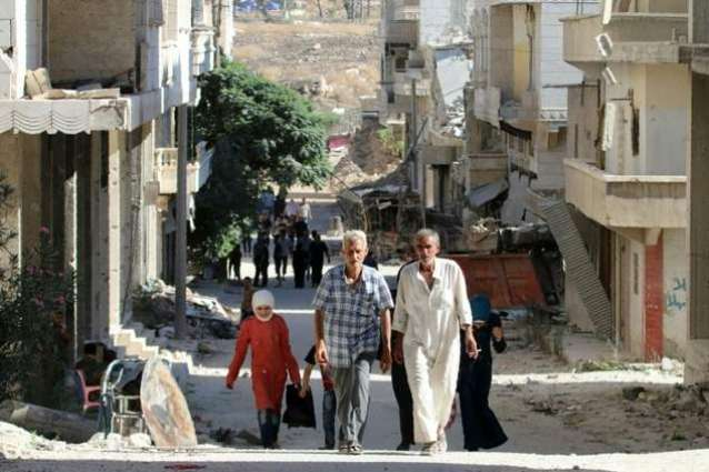 'Dozens of families' leave besieged Aleppo: Syria state news