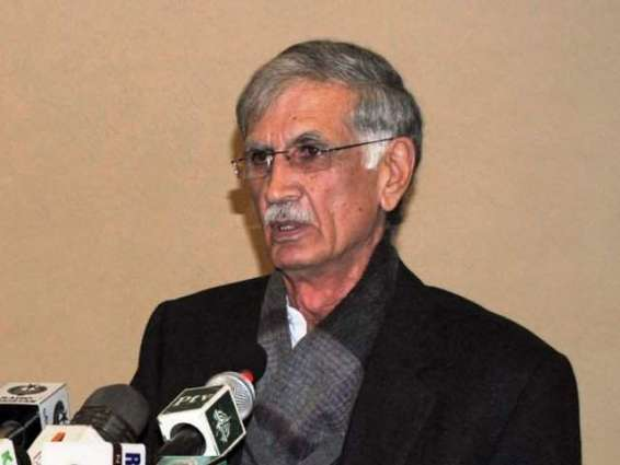 Collective movement need to eliminate corruption: CM Khattak