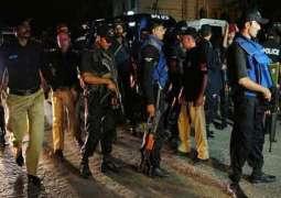 Combing operation in Karachi, 10 terrorists arrested