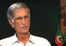 CM KPK Pervaiz Khattak inaugurates Office of Rescue 1122