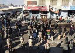 مقتل ثلاثة إرهابيين بمدينة كويتا الباكستانية