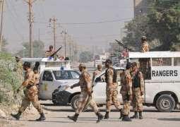 Karachi: Rangers operation, 3 suspect arrested