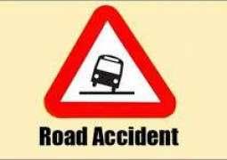Chiniot: Passenger van overturned, 6 passengers injured