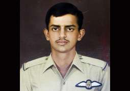 the brave Rashid Minhas sacrificed his life today while protecting his dear homeland