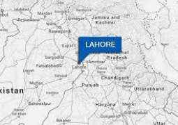 Lahore: Sudden fire engulfed car at Mall Road