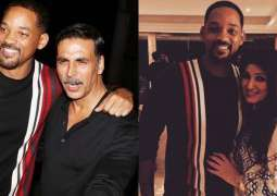 Will Smith Attends Akshay Kumar and Twinkle Khanna's celebration party