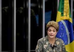 Rousseff urges Senate to vote against 'coup'
