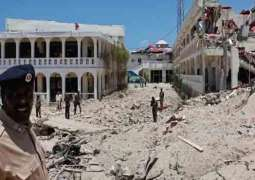 Suicide bomb attack near Presidential Palace in Somalia, 22 people killed and 55 injured
