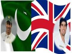 انگلینڈ و پاکستان کرکٹ ٹیم تا نیام اٹ چارٹیسٹ میچ آتا سیریز نا مسٹ میکو میچ (پگہ ) آن بناء کیک ہڑتوم آ ٹیم تا نیام اٹ سیریز 1-1آن بریبر