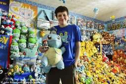 British woman has collected 29 thousand Pokémon characters