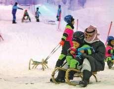 Saudi Arabia: 'Snow City' opened for public in Riyadh