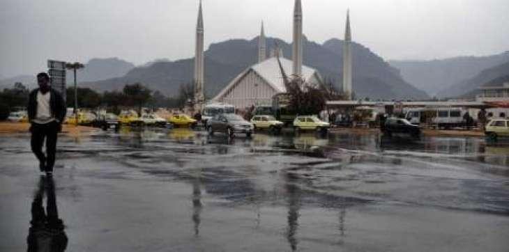 خیبرپختونخوا، اتلے پنجاب، اسلام آباد، فاٹا اتے کشمیر وچ کتھائیں کتھائیں کھمنڑ دے نال مینھ وسنڑ داامکان