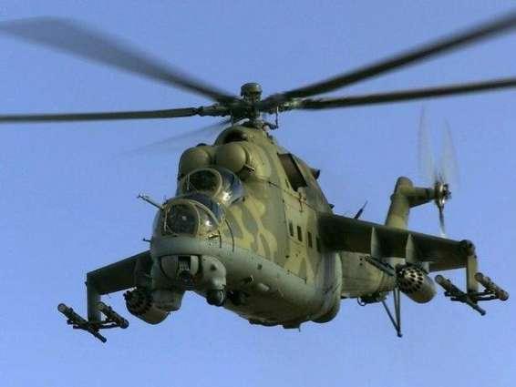 Russian chopper shot down in Syria