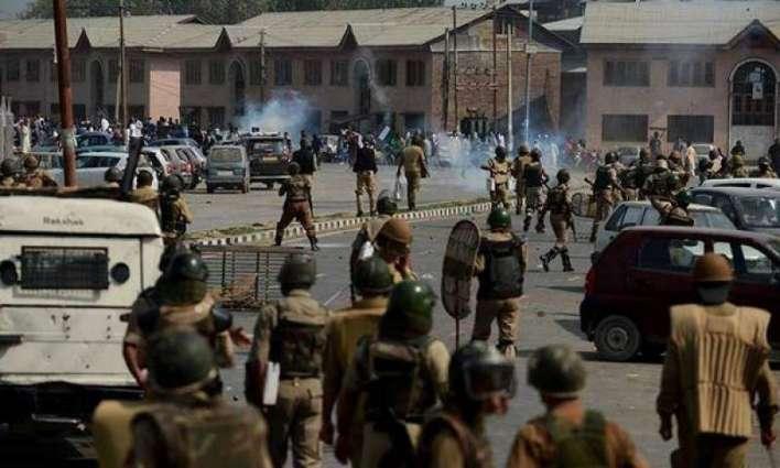 بھارتی فوجیاں گزریل مہینے 4تریمتاں 12بالاں سمیت 74کشمیریاں کوں شہیدکیتا،گھراں دے اند روڑتے 90 تریمتاں دی بے حرمتی کیتی