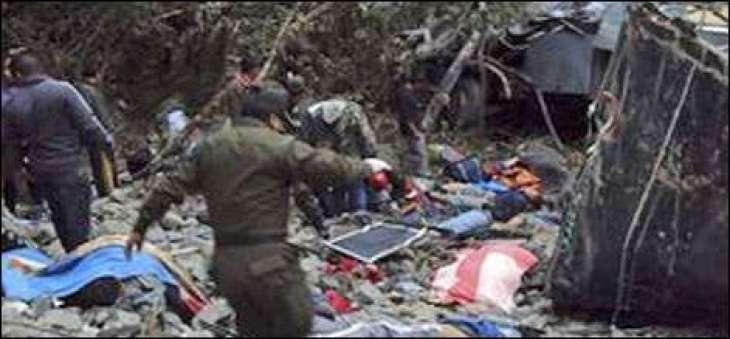 بولیویا وچ کار دے حادثے وچ اٹلی،بیلجیئم اتے پیرو دے5 سیاح ہلاک