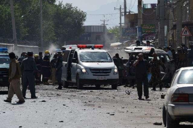 پھ افغانستان كښې د بګرام هوائي اډې سره نزدې پھ نارته ګېټ ګېسټ هاؤس بريد ٬ ددريو طالب بريد كونكو پشمول 1 پوليس اهلكار ووژل شول