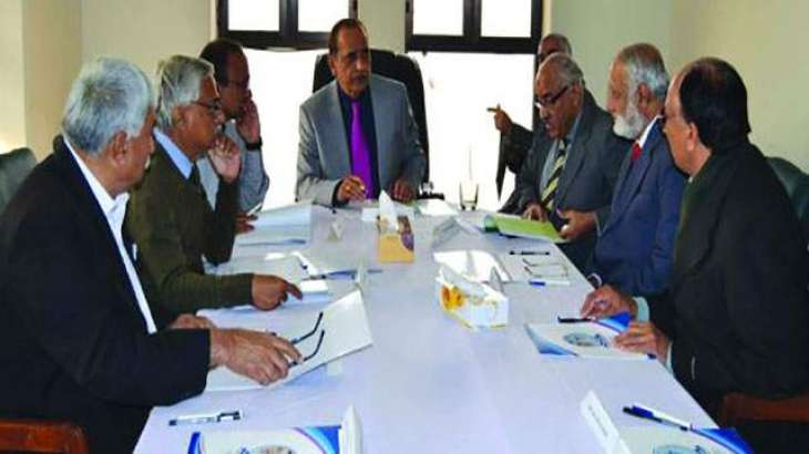 Selection Board of Sindh University meets