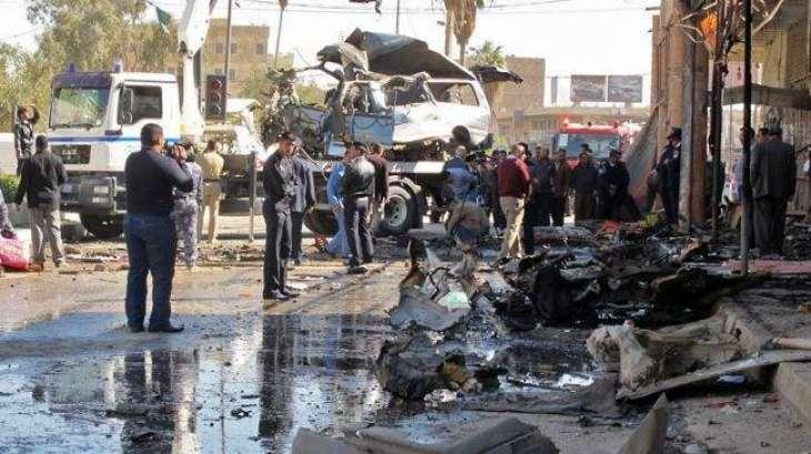 عراق٬ تېره مياشت بمي چاٶدنو كښې 323 كسان مړه ٬ 200 څخه زيات ټپيان
