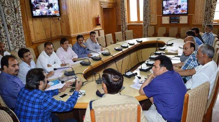 Divisional Commissioner reviews security of engineers, workers