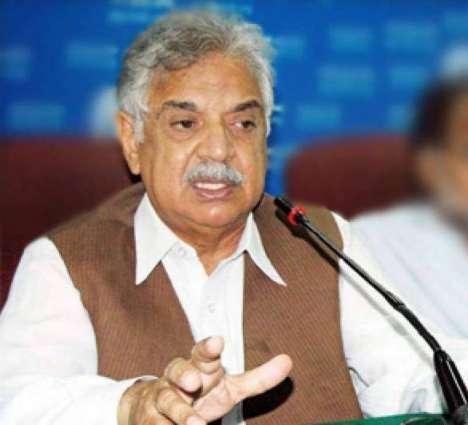 Peace restored Khyber to Karachi due to operation Zarb-e-Azb: Governor