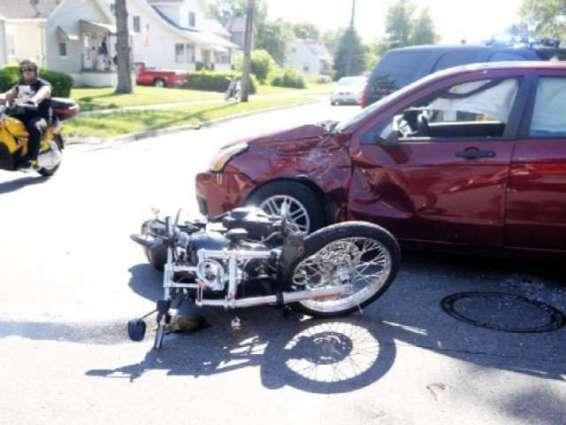 خان پور،موٹر سائیکلاں وچال ٹکر نال موٹر سائیکل جاں بحق
