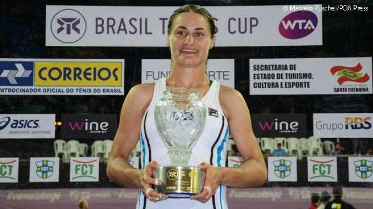 Tennis: WTA Brazil Cup results