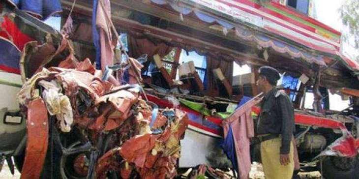 Jamshoro accident leaves 12 dead