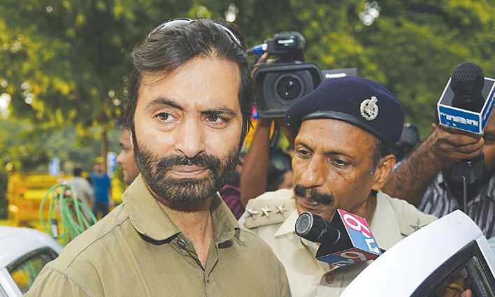 Complete freedom from India is our only goal: Yasin Malik