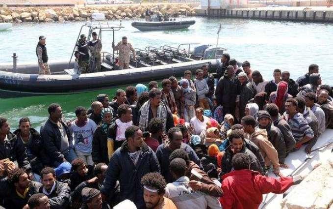 لیبیا دی ساحلی حدود توں مزید1800 مہاجراں کوں بچا گھدا گیا، اطالیہ