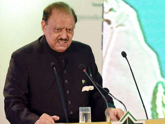 Pakistan for promoting ties with all countries: President