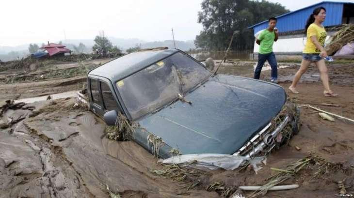 چین وچ سمندری طوفان نے تباہی مچا دتی، اک لکھ افراد محفوظ مقام تے منتقل 150توں ودھ پروازاں منسوخ،شینزان وچ1200 توں ودھ کشتیاں نوں ساحل تے واپس بلا لیا