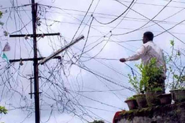 لہور، کئی علاقیاں دی بجلی بند