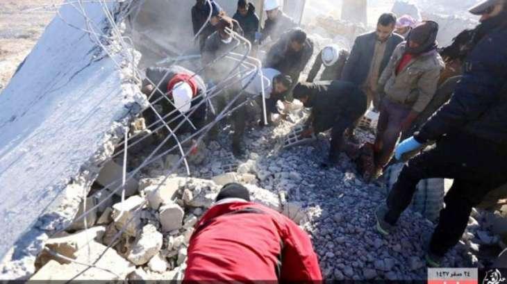 شام ، حلب وچ باغیاں دا حملہ، اٹھائی شہری ہلاک، درجناں زخمی