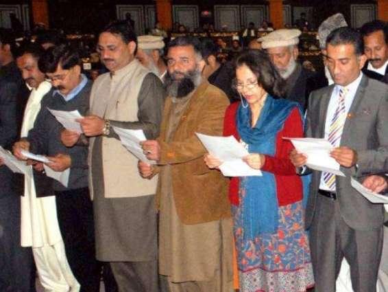 Elected LG representatives take oath